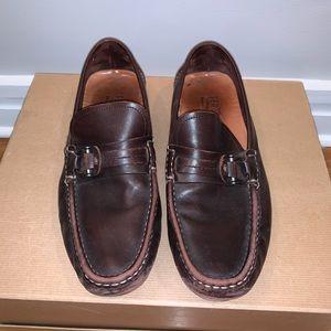 Salvatore FERRAGAMO Men's shoes in brown calfskin